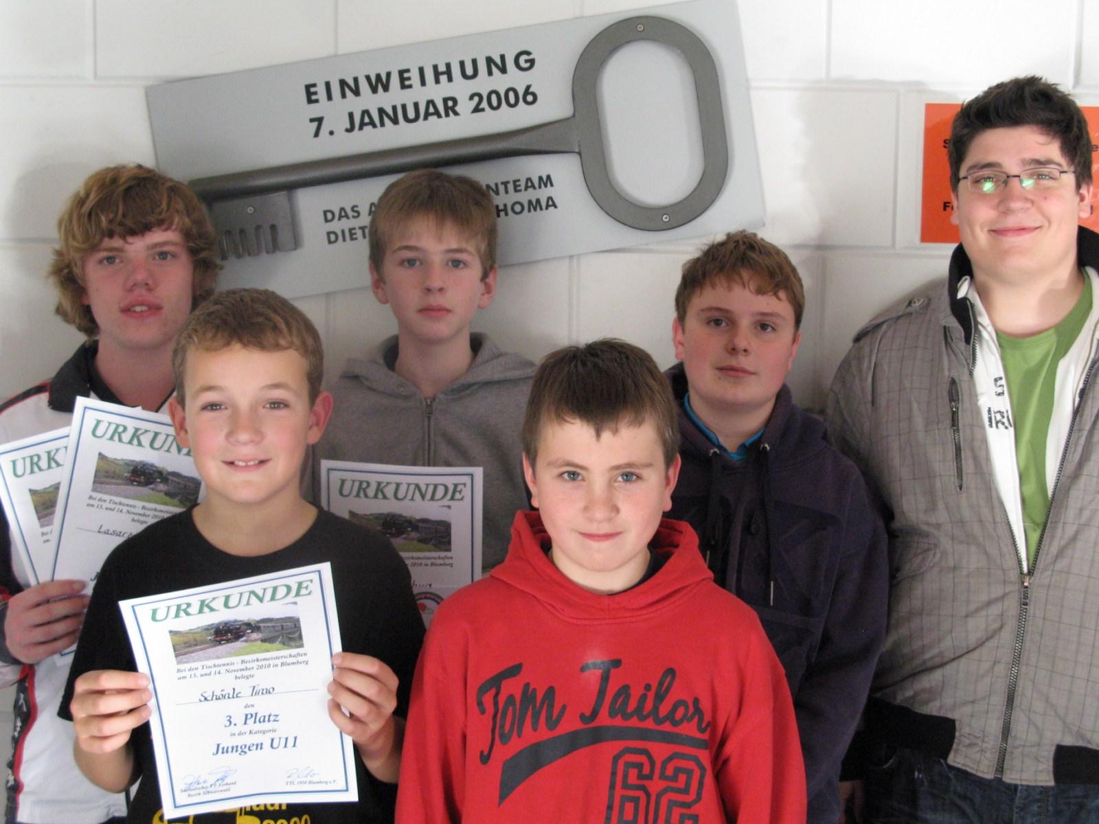 Bezirksmeisterschaften 2010 Jungen