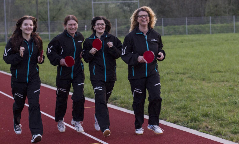 1. Damen-Mannschaft 2013/2013 - Aufstieg in die Verbandsliga