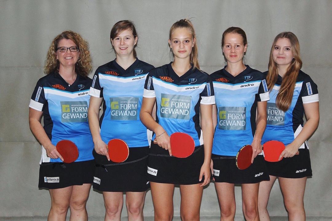 Damen I - Saison 2015-2016 - Verbandsliga