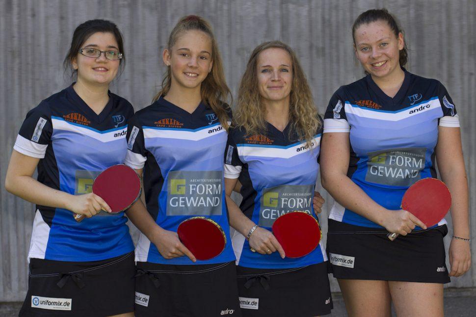 Damen II - Saison 2015-2016 - Landesliga
