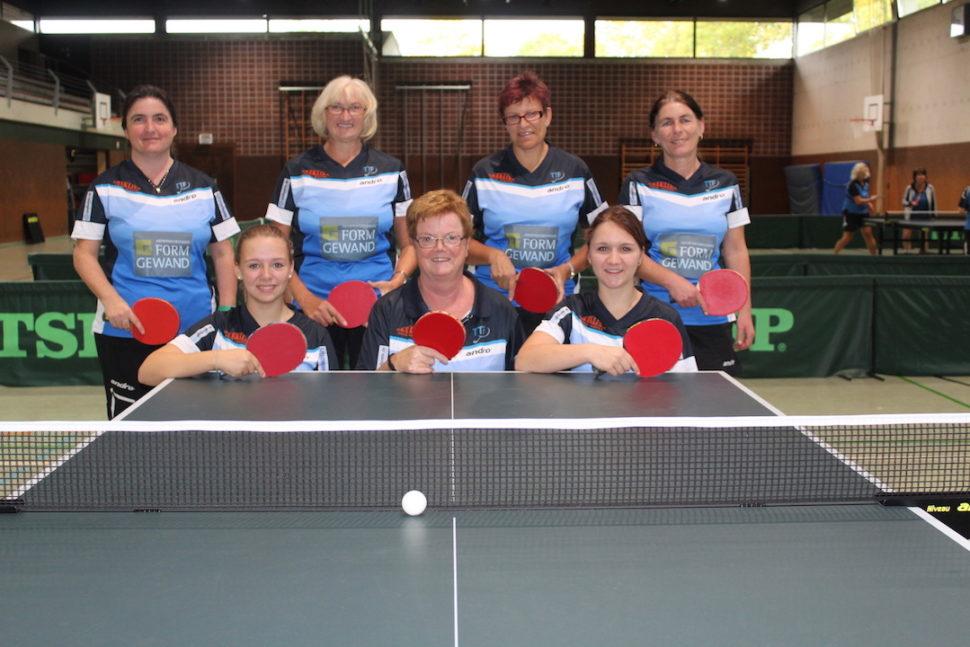 Damen III - Saison 2015-2016 - Bezirksliga
