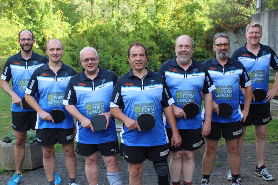 Herren II - Saison 2015-2016 - Bezirksklasse