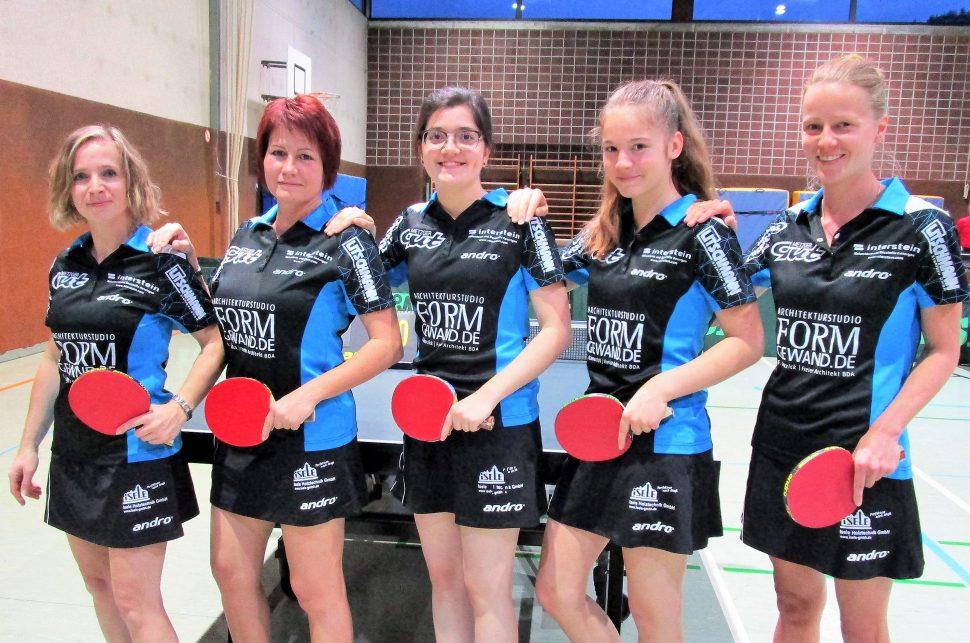 Damen 3 Landesliga 2017-2018