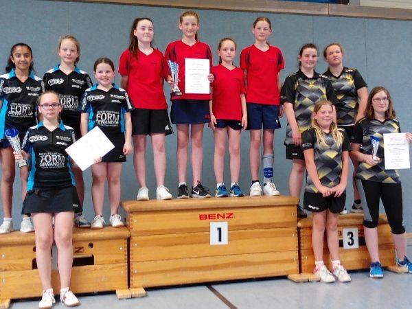 Südbadische Mannschaftsmeisterschaften der Mädchen U15